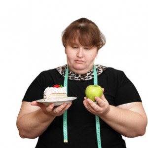 dieting overweight women choice